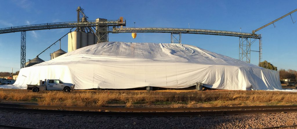 Grain Pile Tarps – Soles Enterprises